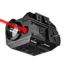 Tactical Green Laser Sight Combo Light LED Strobe Flashlight For Handgun/Rifle