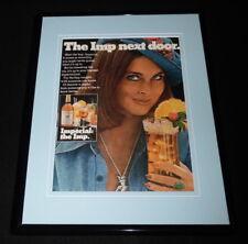 1975 Imperial Whiskey The Imp Framed 11x14 ORIGINAL Vintage Advertisement