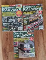 Garden Railways Magazines 3 2007 Issues Model Trains Railroad