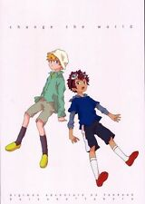 Digimon Adventure 2 Soft YAOI Doujinshi ( Davis x T. K. ) change the world