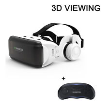 Detachable 3d Bluetooth Virtual Glasses VR Headset for 4.5-6.53 Inch Android IOS