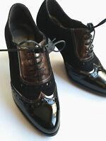 Little Shoe Shop Black Patent Leather Shoes Size 1 (Petite)