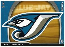 TORONTO BLUE JAYS LOGO FATHEAD TRADEABLES REMOVABLE MINI STICKER 2009 #L29