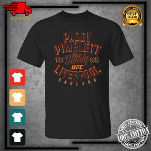 Men's UFC Paddy The Baddy Pimblett Vintage Boxing 2021 T-Shirt For Fan