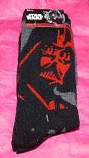 NEW Star Wars Disney Darth Vader Men's Socks Two Pair Set Empire Imperial 1-Size