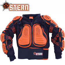 KIDS STERN MOTOCROSS BODY ARMOUR PROTECTION ORANGE bionic suit jacket quad