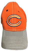 Reebok NFL Equipment Chicago Bears Orange and Gray Hat One Size Fits All