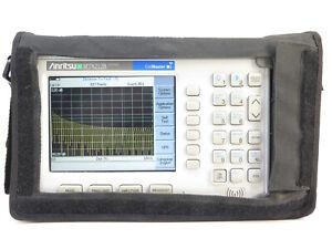 Anritsu CellMaster MT8212B Base Station Analyzer Opt 21, 25, 27, 28, 31, 33, 42,