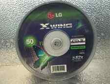 50 x X Wing 700MB/80min CD Recordable CD-R 2-52x Compatible