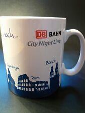 DB Bahn * CNL KAFFEETASSE * Deutsche Bahn Nachtreise * Motivtasse Kaffee Tasse