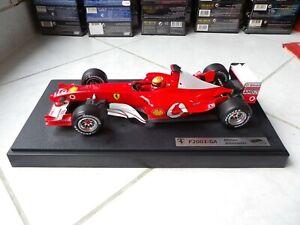 Ferrari F2003-GA Michael Schumacher #1 2003 1/18 Hotwheels Mattel F1 Formula 1