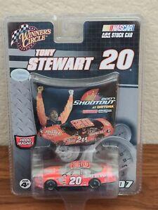 2007 #20 Tony Stewart Home Depot Bud Shootout Win 1/64 Winner's Circle NASCAR