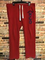 Hollister sweatpants Men's Size Large Red