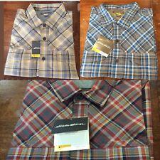 3 Eddie Bauer Freeshade Travex Live Your Adventure long sleeve shirt $240Sz XXL