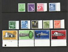 More details for nigeria sg 89-101 1961 definitive set mnh