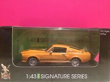 SIGNATURE SERIES SUPERBE SHELBY GT500 1967 NEUF EN BOITE 1/43