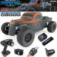 Associated 70019C 1/10 Trophy Rat Brushless 2WD Truck RTR w/ Lipo Combo