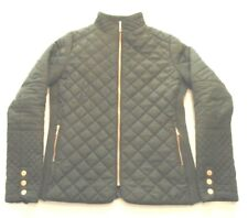 Warm, Comfortable Quilted Olive Jacket Women's Extra Small (XS) JORDACHE (Z)