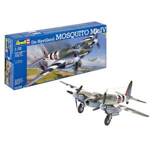 Revell De Havilland MOSQUITO Mk.IV WWII Plastic Model Kit 04758 Scale 1:32
