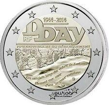 Pièce 2 euros commémorative FRANCE 2014 - 70ème anniversaire du débarquement