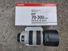 CANON ZOOM LENS EF 70-300mm f4-5.6 L IS USM