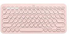 Logitech Genuine K380  Bluetooth Keyboard Korean English Layout (Pink)