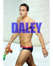 TOM DALEY #58,BARECHESTED,SHIRTLESS,candid photo