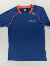 Usa Triathlon National Championships 2Xu Training Shirt (Mens Small) Blue