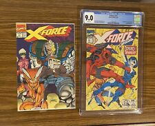X-FORCE #11 ~ CGC 9.0 And Issue # 1~ 1st real Domino appearance ~  Deadpool app!