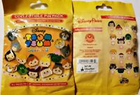 Disney Collectible Pin Pack TSUM TSUM Series 3 Mystery Bag of 5 Pins Sealed NEW