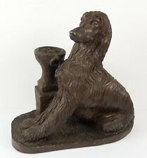 Lovely Heredities Afghan Hound Dog Figure