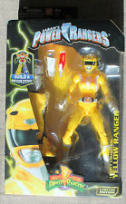 Bandai Mighty Morphin Power Rangers YELLOW RANGER Legacy BAF MEGAZORD Figure