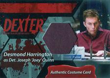 Dexter Seasons 7 & 8 Costume Wardrobe Card C9 Desmond Harrington Det. Joey Quinn