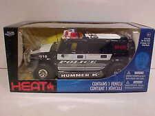 GM Hummer H2 Police K9 Unit SUV Die-cast Car 1:24 Jada Toys 8 inch