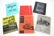 Harley Factory Parts Catalog Gift Set of 6 Panhead Knucklehead Flathead  (812)