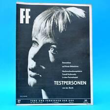 DDR FF-Dabei 27-1965 / 27.06.-03.07. Traudl Kulikowsky von Törne Paul Klecki