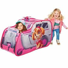 OFFICIAL PAW PATROL SKYE'S HELICOPTER POP UP PLAY TENT CHILDRENS PEEK A BOO ROOF