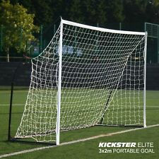QUICKPLAY Kickster Elite 3x2m (Futsal) Portable Team Training Football Goal