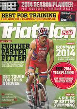 NEW! TRIATHLON PLUS UK 62 January 2014 IRONMAN Plan Training Zone + Year Planner