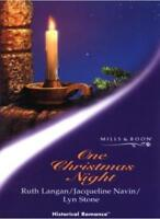 One Christmas Night (Historical Romance S.) By Ruth Langan~Jacqueline Navin~Lyn