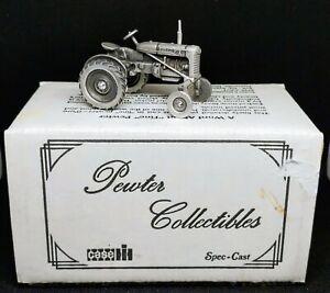 Spec-Cast Case Farmall A Pewter Tractor 1:43 Scale - Original Box