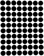 Black Dot Stickers In Various Sizes 8mm 38mm Color Coding Label In 15 Sheets