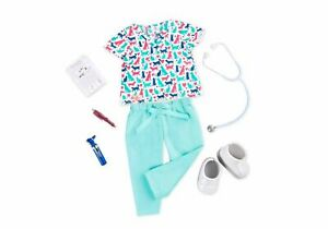 """Our Generation Healthy Paws VETERNARIAN Outfit Playset for 18"""" Dolls Ages 3+ NEW"""