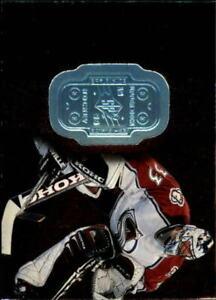 1998-99 SPx Finite Colorado Avalanche Hockey Card #24 Patrick Roy/9500