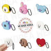 BT21 Character Basic Silicone Case For AirPods Pro Ver. + Carabiner Authentic MD