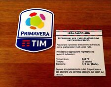 2016-17 SERIE A TIM PRIMAVERA UFFICIALE STILSCREEN FOOTBALL JUVENTUS PATCH BADGE