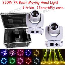 12×230W 7R Sharpie with flight case stage dj show lights Beam Moving Head Light