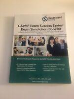 CAPM Exam Success Series:  Exam Simulation Booklet V5.0 Crosswind Learning