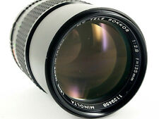 MC Tele Rokkor 135/2.8 obiettivo lens Minolta MC
