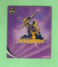 2010 RUGBY LEAGUE  TAZO  #34 MELBOURNE  STORM  LOGO